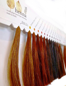 Henna Based Black Hair Color