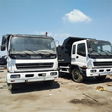 White Color 6x4 Hot Sale Isuzu Japan Used Tipper Dump Truck CXZ51Q CXZ81Q