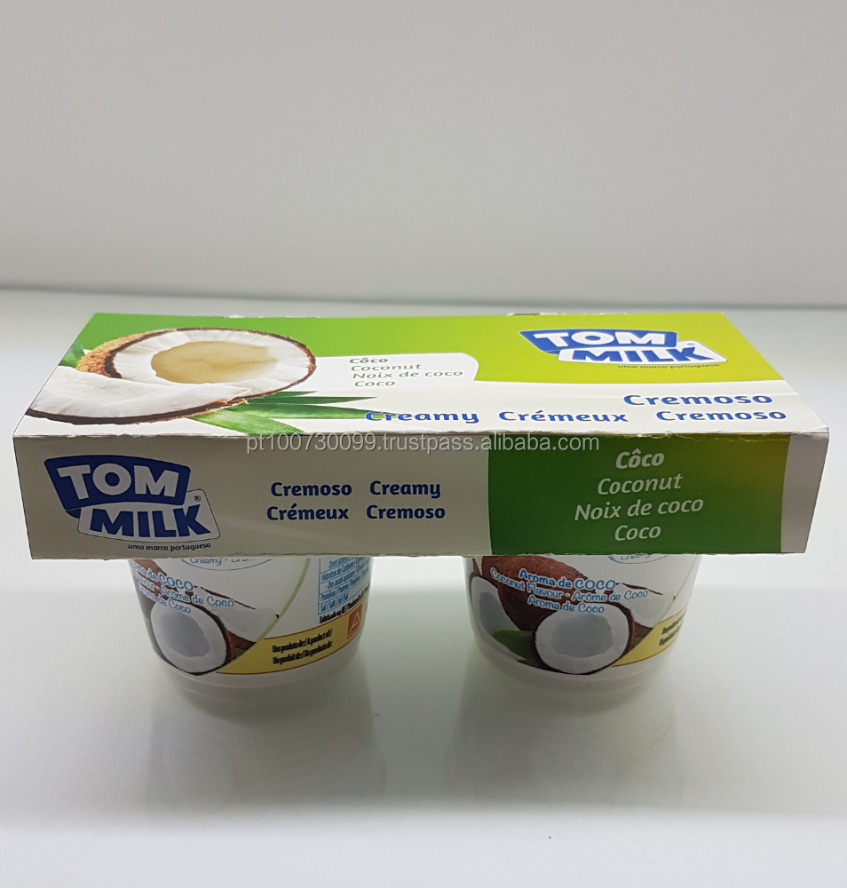 TOM MILK Creamy Yogurt 2x125g