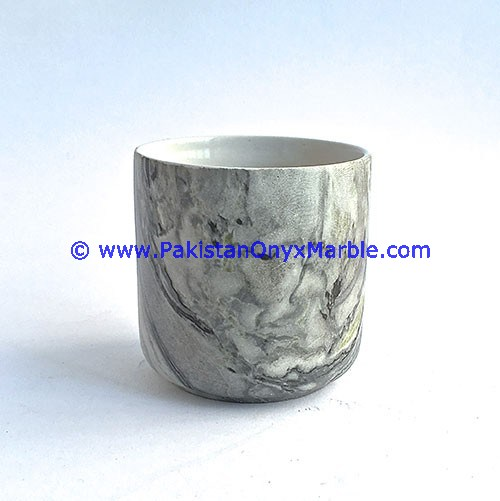 CUSTOM DESIGN MARBLE TUMBLER BATHROOM ACCESSORIES HAND CARVED