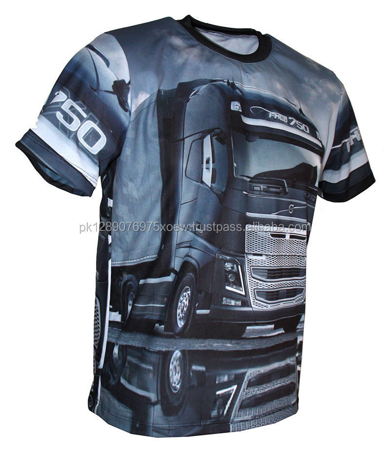 Dye Sublimation Printing 3d T Shirts