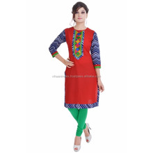 Exclusive Indian Ethnic Pure Cotton Designer Printed Casual Wear Kurti
