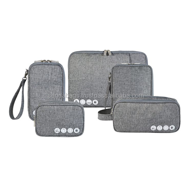 Phone holder wallet made from cotton linen canvas by Vietnamese manufacture with SGS, SEDEX, BSCI.