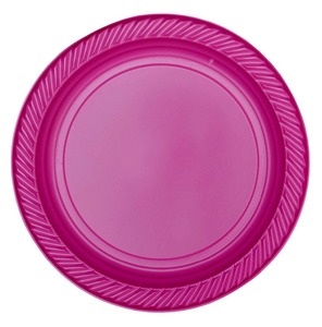 High Quality Luxury Model Colorful Disposable Plastic Plates