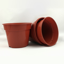 MALAYSIA HIGH QUALITY PLASTIC FLOWER POTS WITH COLORS