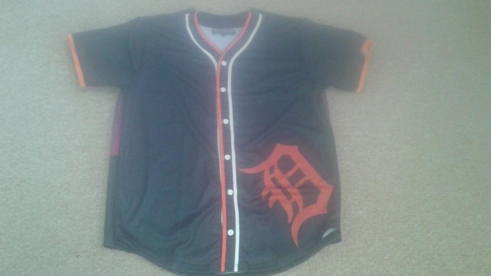 Polyester customized sublimation Baseball Jerseys