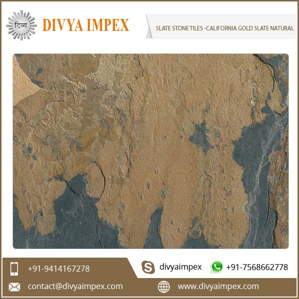 California Gold Slate Natural Stone Veneer Price Per Square Meter