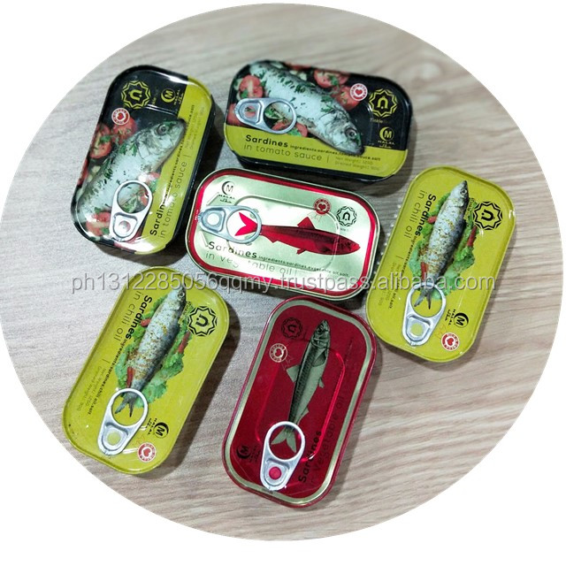 Canned Sardine and Mackerels