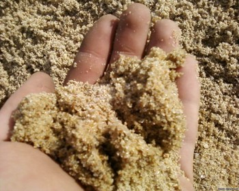 Natural Brown Construction River Sand for Export Market