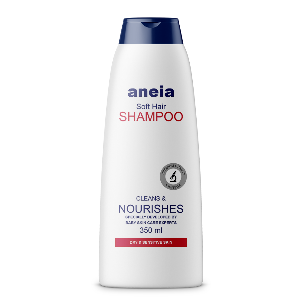 Aneia - German Infant Hair Shampoo (ISO, Herbal) 350 ml Bottle