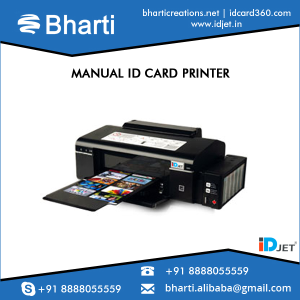 High End Technology Made Inkjet PVC ID Card Printer