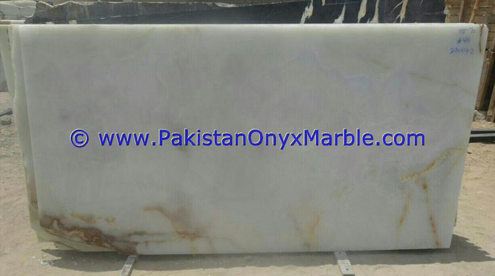 Cheap Polished Imperial AFGHAN WHITE ONYX SLABS COLLECTION