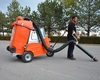 100% Electronic Industrial Sweeper / industrial floor cleaning machine