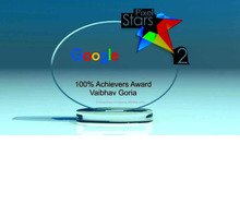 Conquer New Oval Shape With Colorful Design Crystal Award, Glass Trophy with Round Base