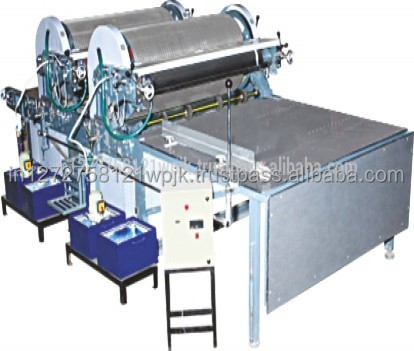 High efficiency Flexographic mix colors corrugated paper carton flexo printing machine