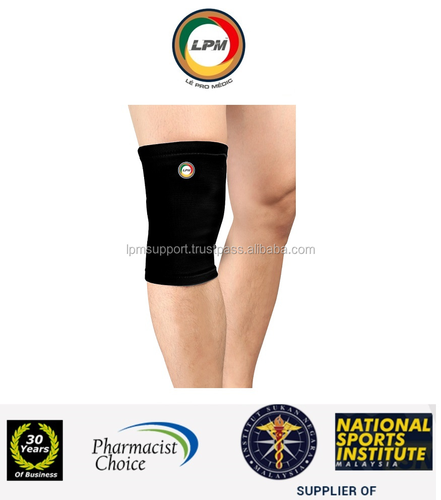 LPM(Pharmacist,National Sports) Knee Elastic Knitted Sleeve Compression Brace Support Protect