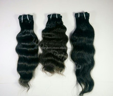 100% Virgin Indian Remy Hair From India 3 piece hair weave