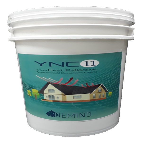 YNC 11 HEAT REFLECTIVE UV RESISTANT THERMAL CONDUCTIVE ROOF PAINT