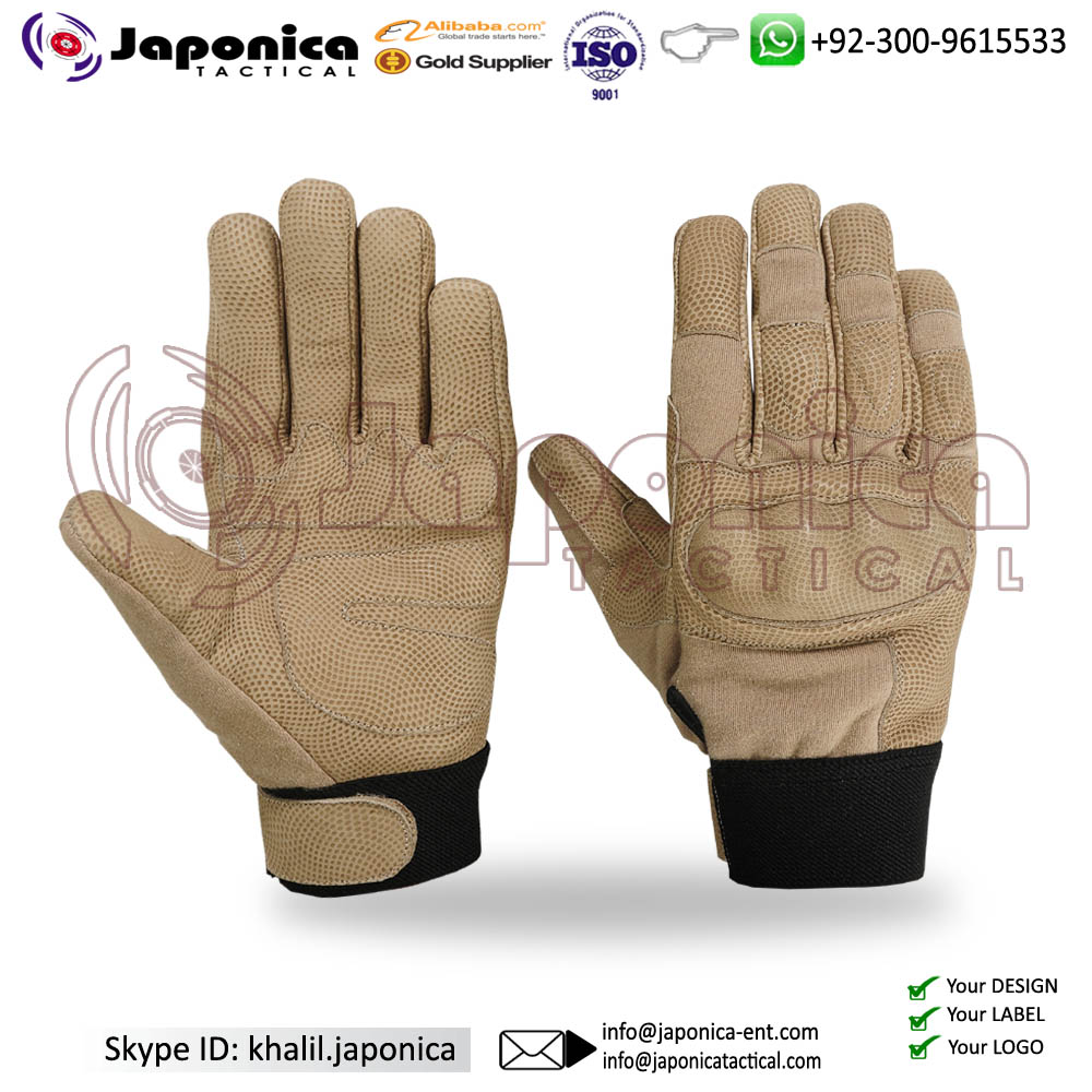 Custom Gloves Tactical Military Airsoft Shooting Outdoor Gloves Motorcycle Armed Full Finger Gloves