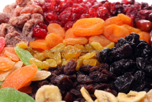 all kinds of dried fruit thailand