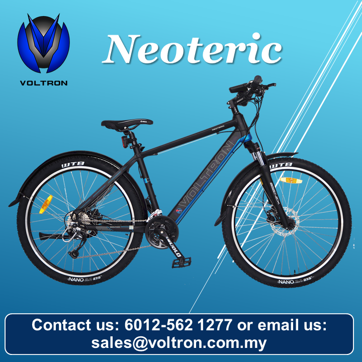 Voltron Electric Bicycle Neoteric 27.5'' inch 24V 250W 27 Speed Shimano Gear Mountain Bike Made In Malaysia