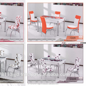 Expandable Dining Table + 6 Chairs set / Turkish made / Economic price