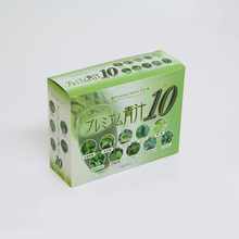 Japan green fruit juice brand name, 100% fruit juice wholesale blend of 10 different vegetables