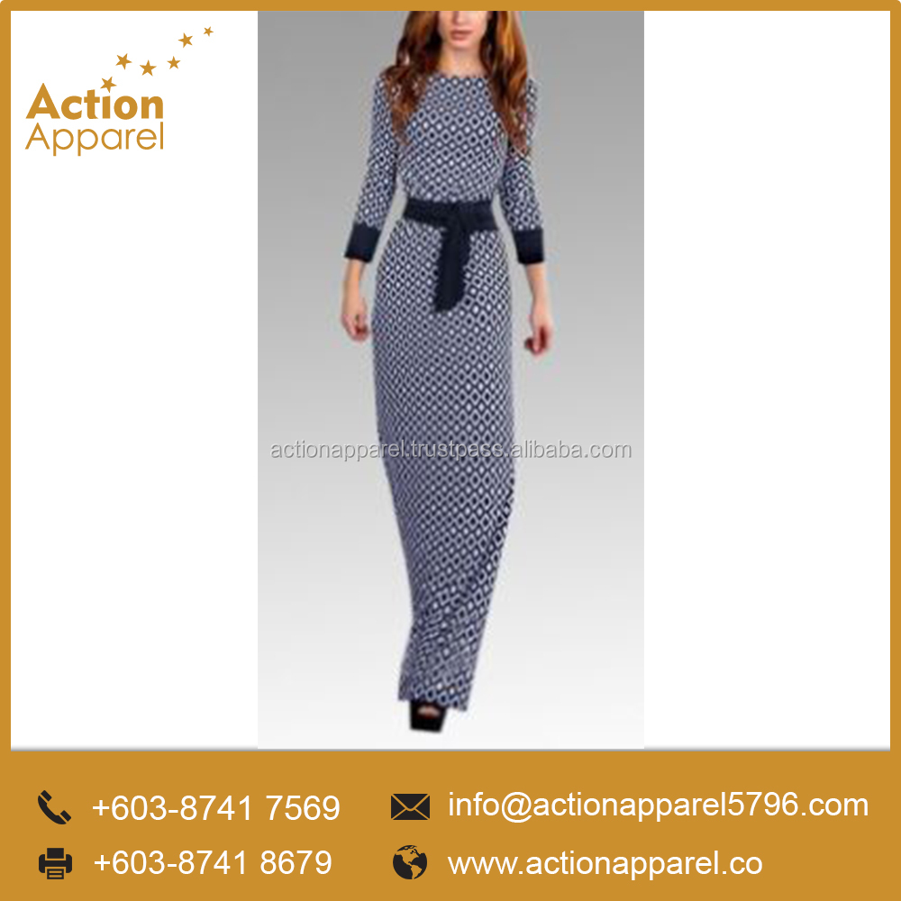 High Quality Ladies' Long Dress