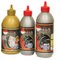 Premium Akita Tire Sealant Anti Puncture For Motorcycle 350 ML