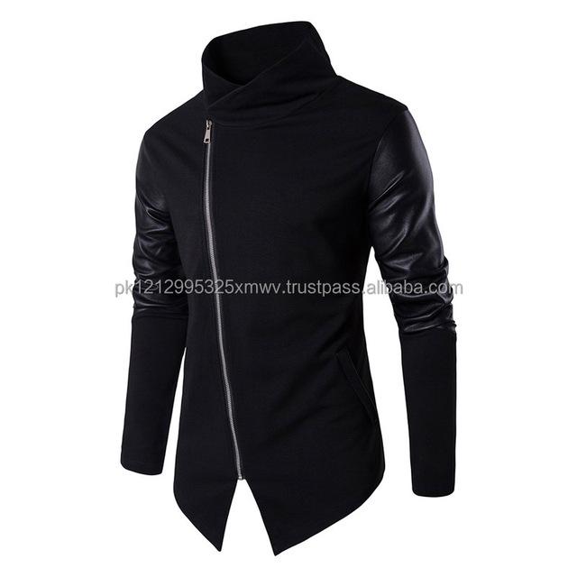full Half White Pullover Hoodie / zipper hoodie / cut off hoodie