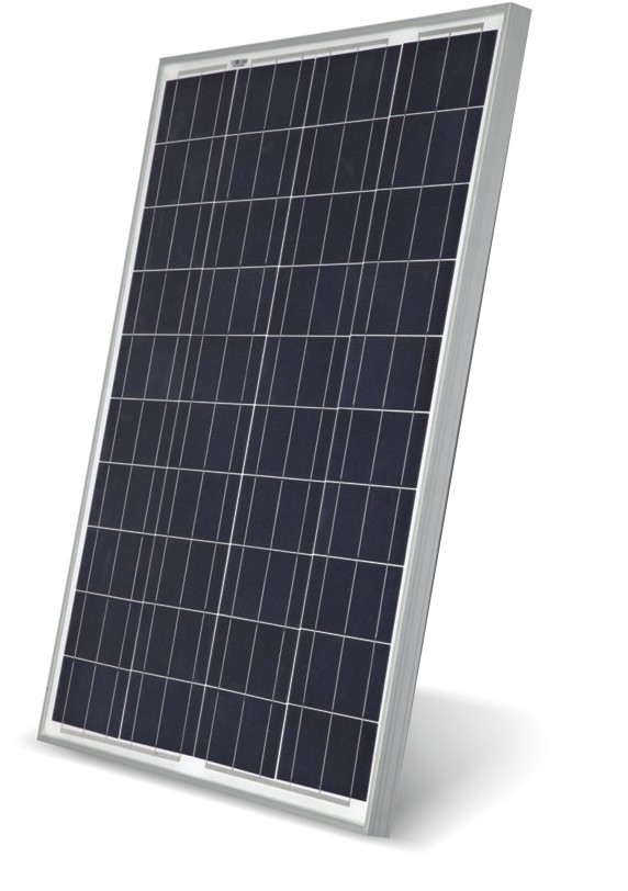 MICROTEK SOLAR PANEL 100W/12V WITH ANTI REFLECTIVE COATING GLASS