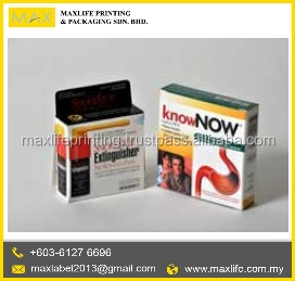 High Quality Customized Pharmaceutical Packaging Box - Bottle Box