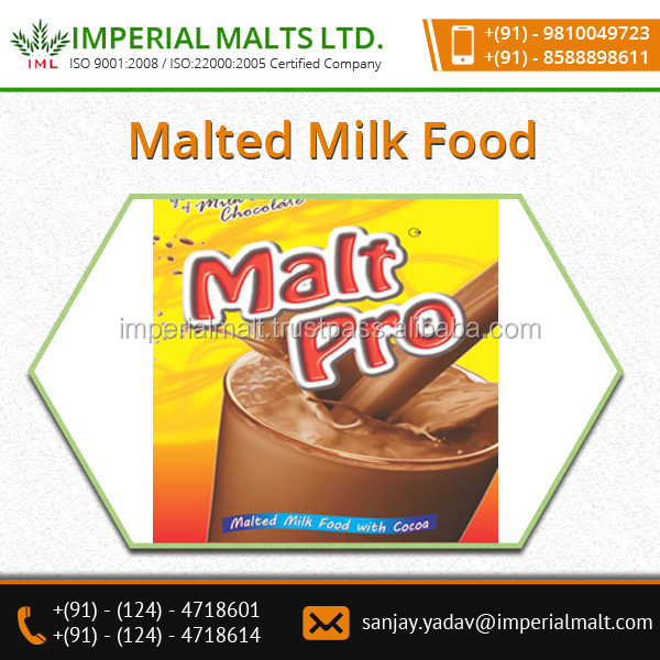 Protein and Vitamins Enriched Chocolate Malt Drink