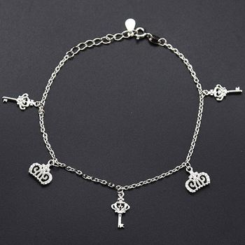 2019 New Trendy  Silver Bracelets For Women silver bracelets with charm