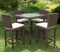 Wholesale Cheap Outdoor Used Restaurant Synthetic Poly Rattan Outdoor Vietnam Furniture