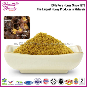 Malaysia Supply women beauty care and treating inflammation Yellow color Stingless Bee Pollen