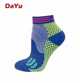 Running socks Marathon ankle compression socks Unisex Made in Taiwan