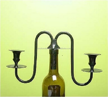 Wine Bottle Pattern Candlestick Candelabra