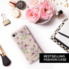 2017 Fashion Phone Leather Case for iPhone 8 7 6s 6 Plus with Rose Print