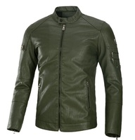 High Quality mens Fashion Leather Jacket