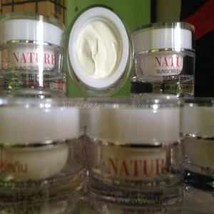 Nature Sunscreen acne skin cream