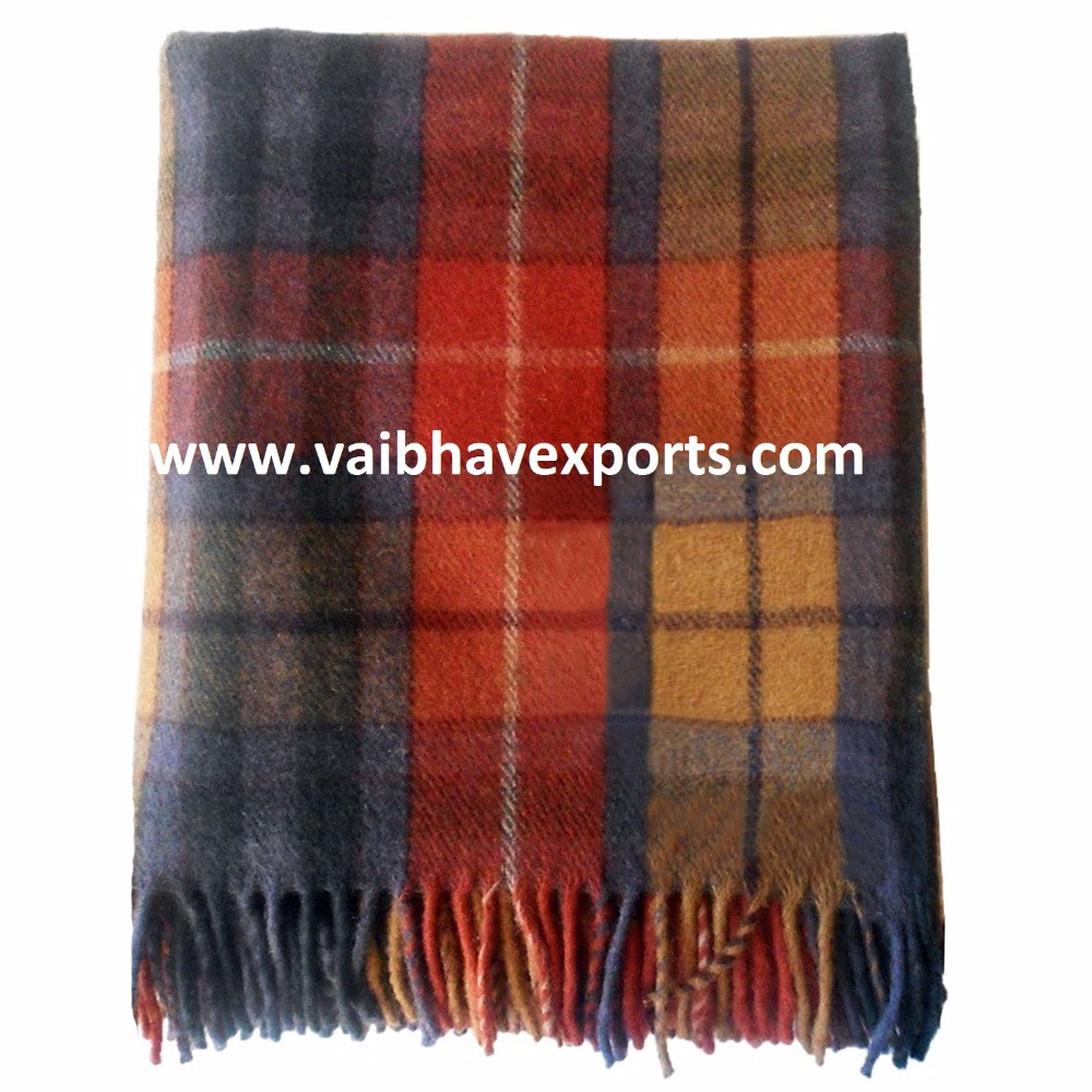 Woolen Blankets made from Virgin Wool