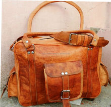 Leather Travel Luggage Weekend Tote Hand Bag's Women's