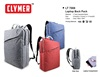 Business Leisure Travel CLYMER Laptop Bagpack Bag