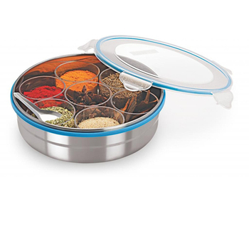 Stainless Steel see through spice box