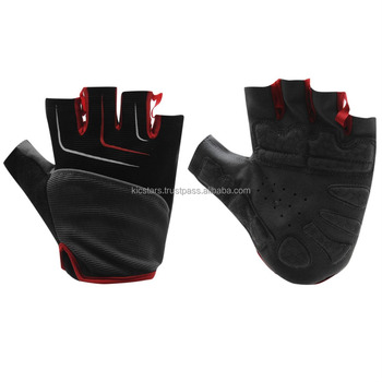 Elastic Four Way Half Finger Gym / Cycling Gloves