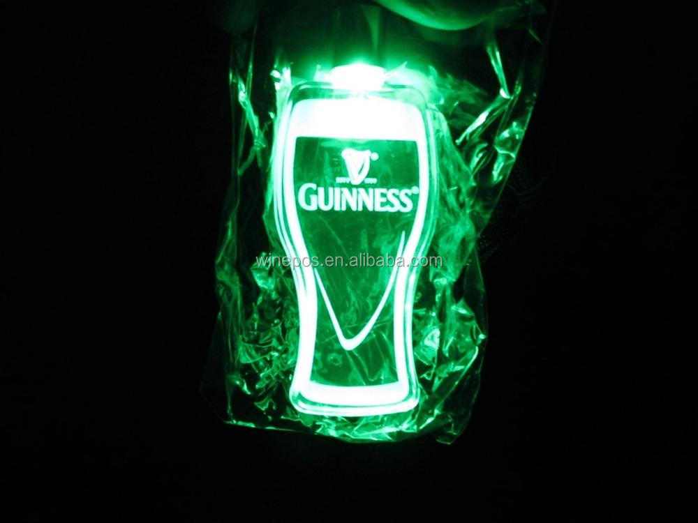 Guinness led necklace, LED necklace, christmas led necklace