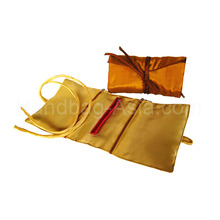 Silk Jewelry Roll Jewellery Roll Silk Jewelry Bags