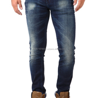 Denim Brand Name Designer Long Blue
