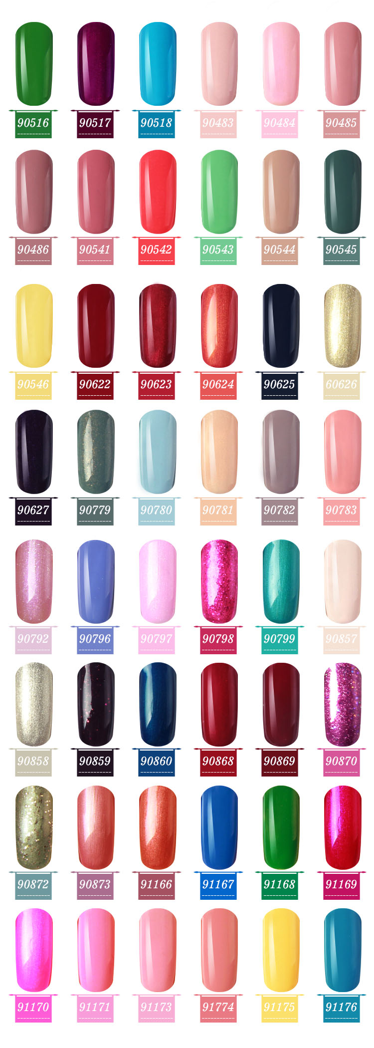 Professional manufacture supplies glaze nail polish finger gel polish